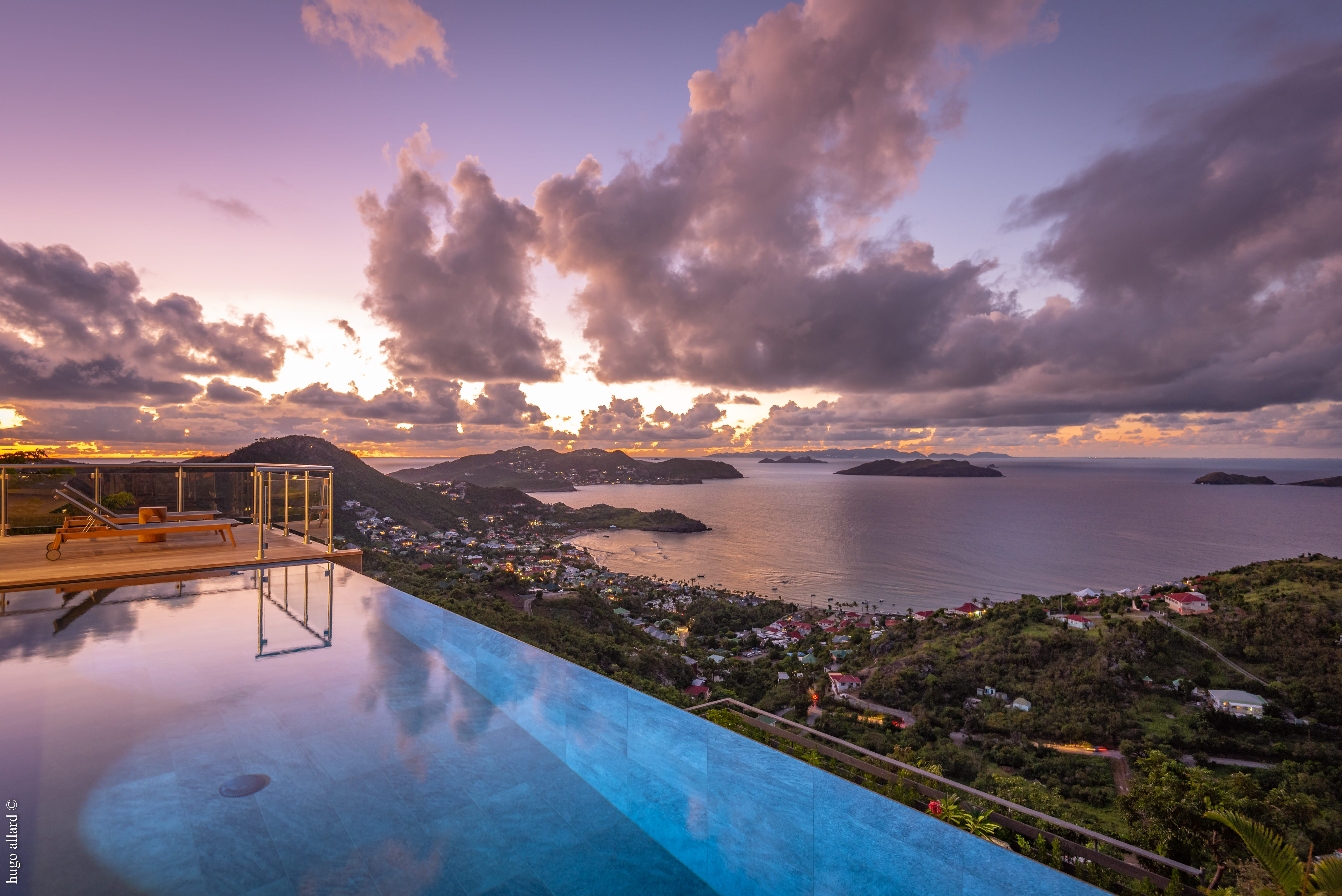 How land prices work in St Barts